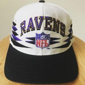 VINTAGE NFL Baltimore Ravens Snapback Hat